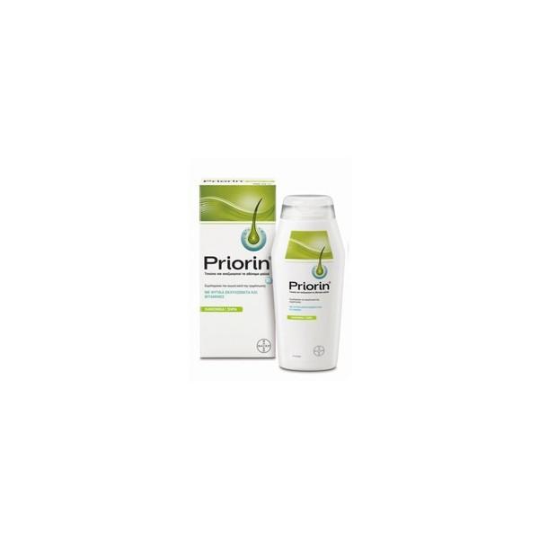 Bayer Priorin Σαμπουάν για Κανονικά Ξηρά Μαλλιά 200ml