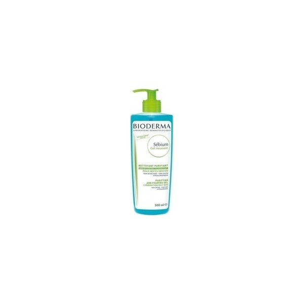 BIODERMA  SEBIUM GEL MOUSSANT / 500ml