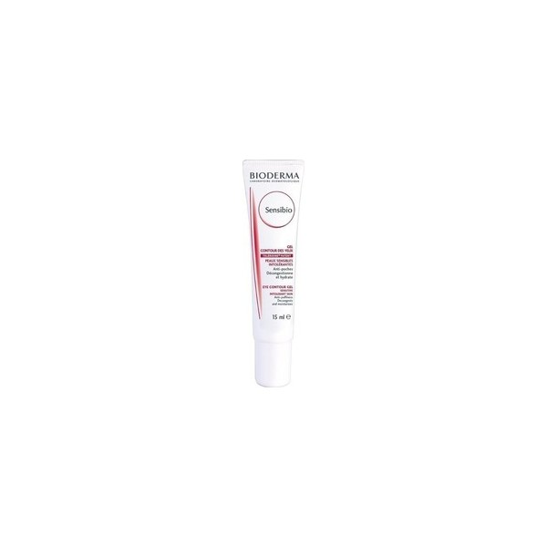 Bioderma Sensibio Eye Contour Gel Sensitive Intolerant Skin 15ml