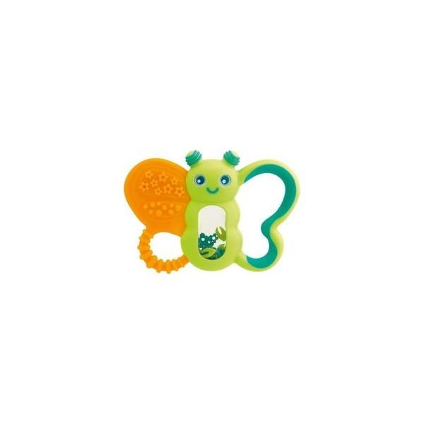 Chicco Πεταλούδα Διασκεδαστικός κρίκος οδοντοφυΐας Funny Relax για βρέφη 6m+ 1τμχ